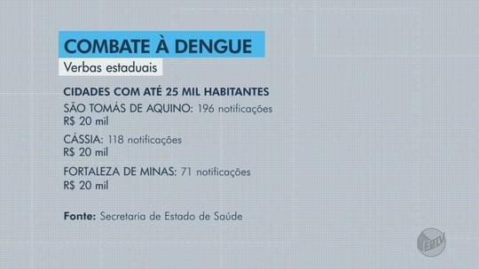 Seis cidades do Sul de MG vão receber recursos adicionais para o combate à dengue