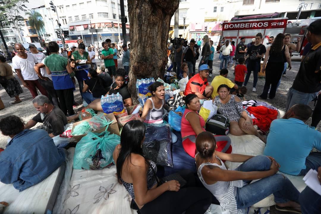 Segundo a Prefeitura, foram cadastradas 248 pessoas desalojadas de 92 famílias