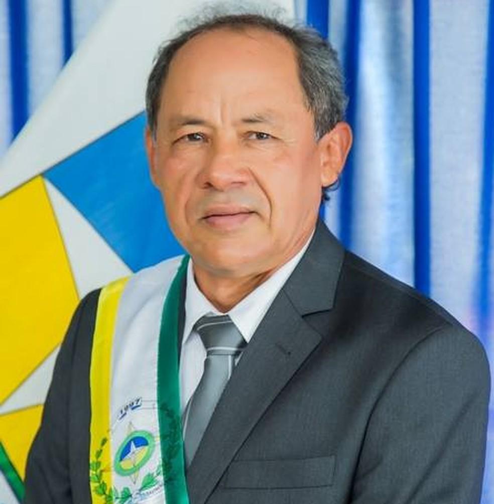 Ivanildo Paiva (PRB), era prefeito Davinopólis e foi encontrado morto no Maranhão — Foto: Divulgação/Prefeitura Municipal de Davinopólis