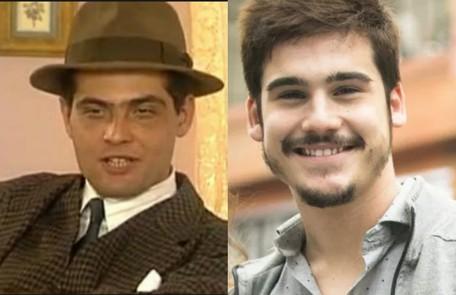 Nicolas Prattes é Alfredo, papel de Tarcísio Filho na versão do SBT SBT/ TV Globo