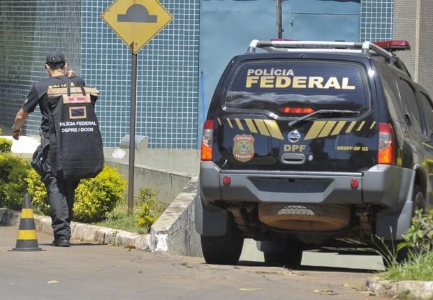 Operação da Polícia Federal (Foto: Marcelo Casall Jr./Agência Brasil)