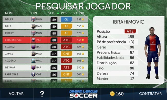 Dream League Soccer: confira os melhores craques para contratar no