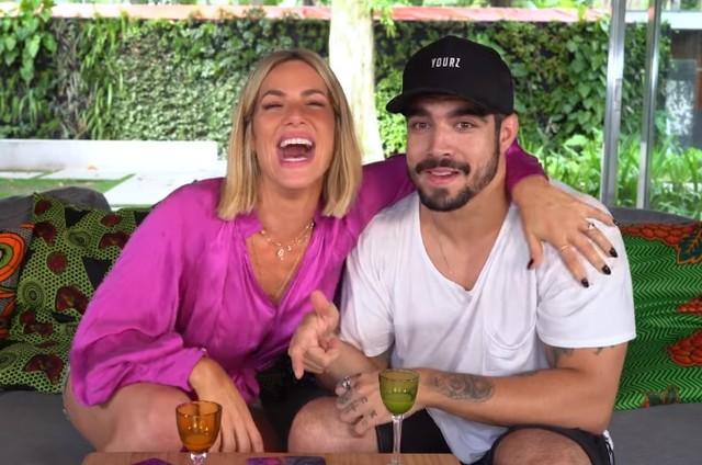 Giovanna Ewbank e Caio Castro (Foto: Reprodução/Instagram)