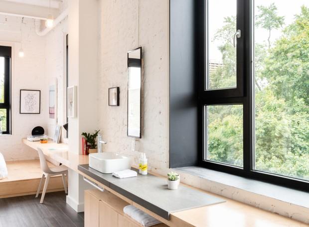 Há três opções de quarto que incluem pequeno, médio e grande (Foto: The Annex Hotel/ Reprodução)