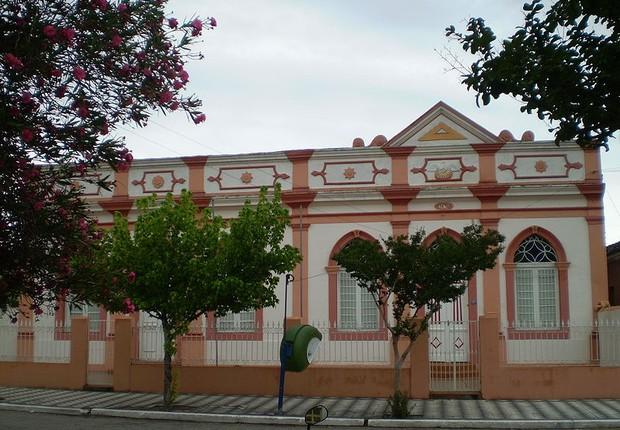 Casa tradicional em Santa Vitória do Palmar (RS) (Foto: Wikimedia Commons)