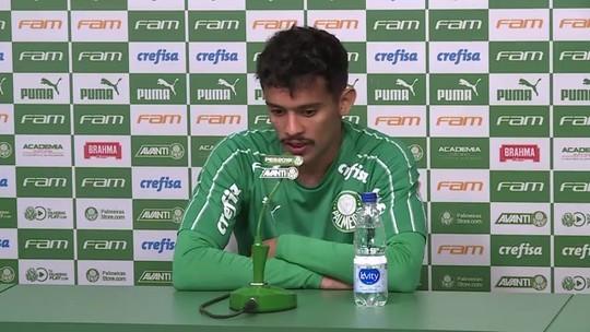 """Gustavo Scarpa brinca com post da Fifa após golaço pelo Palmeiras: """"Injusta"""""""
