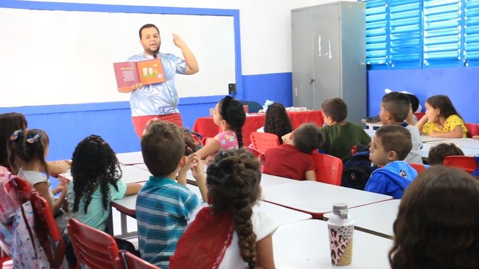Creche de Patos (PB), em imagem de arquivo anterior à pandemia. — Foto: Prefeitura de Patos/Divulgação