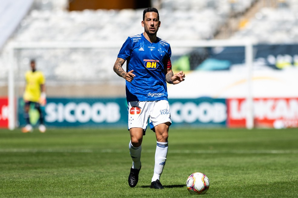 Ariel Cabral, volante do Cruzeiro — Foto: Bruno Haddad/Cruzeiro