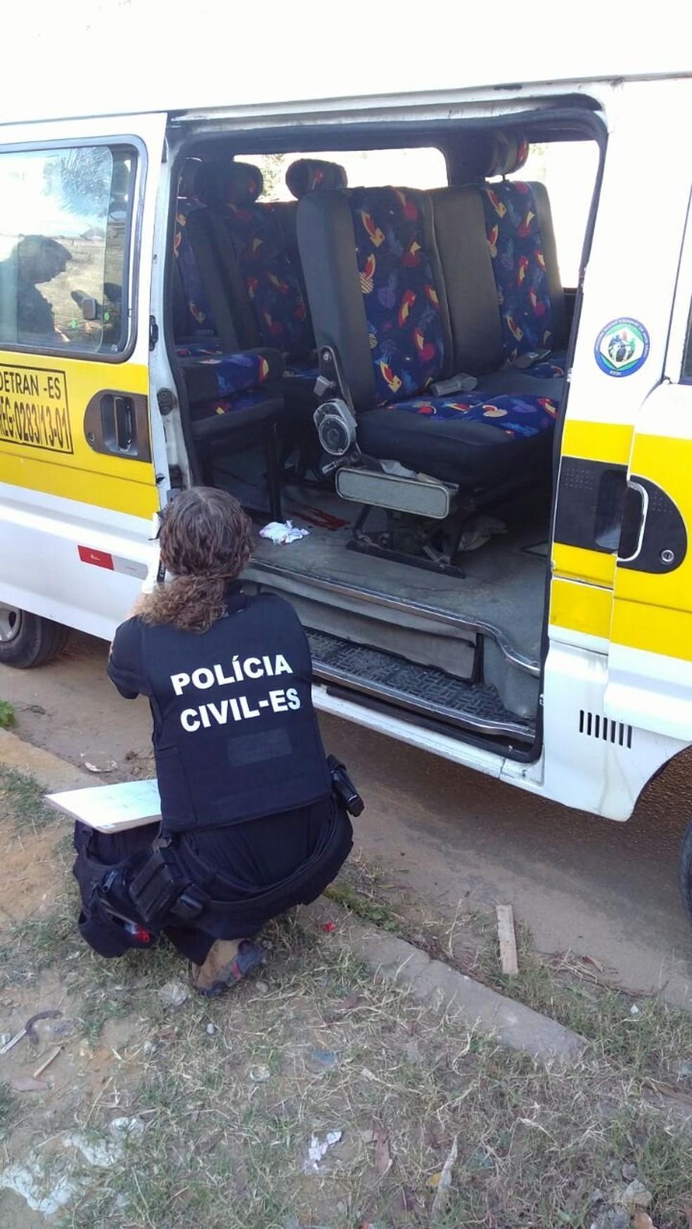 Crianças ficam feridas em troca de tiros entre agente e criminosos (Foto: Ruhani Maia/ A Gazeta)