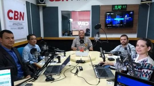 Na CBN, Berg da UGT diz ser contra venezuelanos no AM e afirma que vai construir 20 mil casas em 4 anos