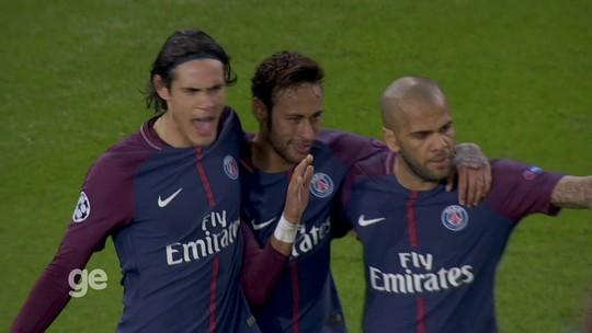 Neymar concorre a prêmio de gol mais bonito da rodada na Liga dos Campeões