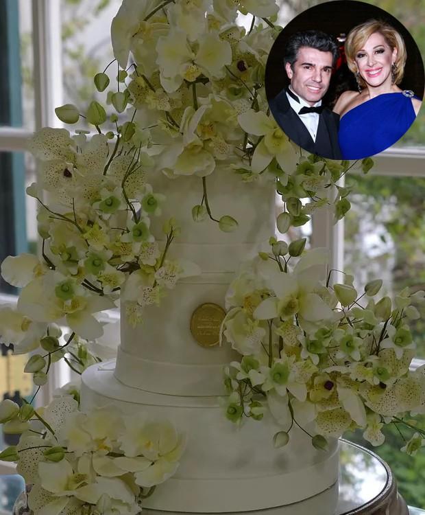 Bolo de casamento Claudia Raia e Jarbas Homem de Mello (Foto: Instagram/ Reprodução)