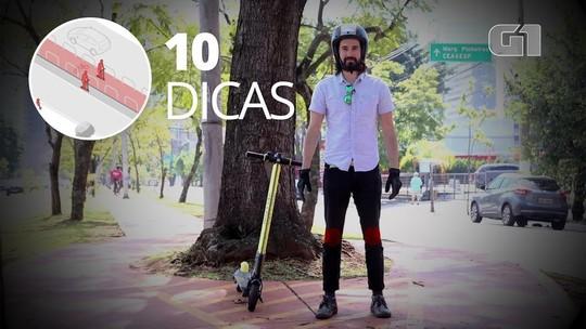 Das primeiras 'remadas' ao fim do rolê: 10 dicas para andar de patinete elétrico