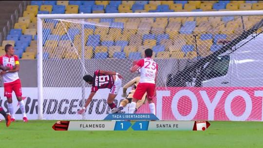 Pela Taça Libertadores, Flamengo tropeça no Maracanã contra o Santa Fé