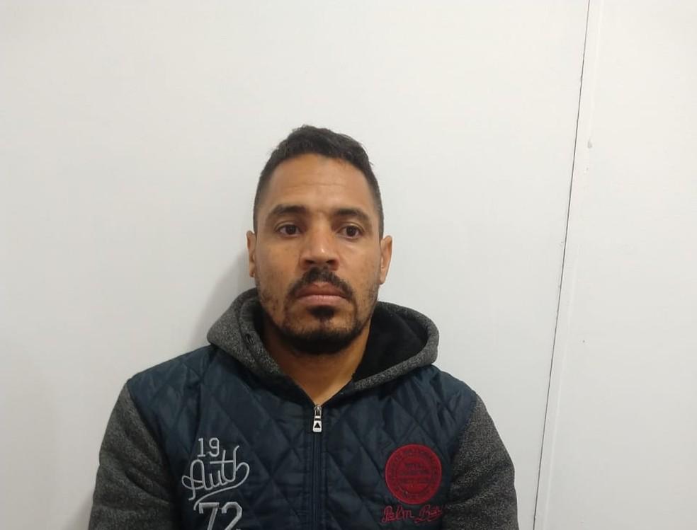Sílvio Adão ficou preso na cadeia de Itatinga por feminicídio — Foto: Arquivo pessoal