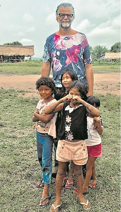 Luiz Fernando Carvalho no Pará (Foto: Divulgação)