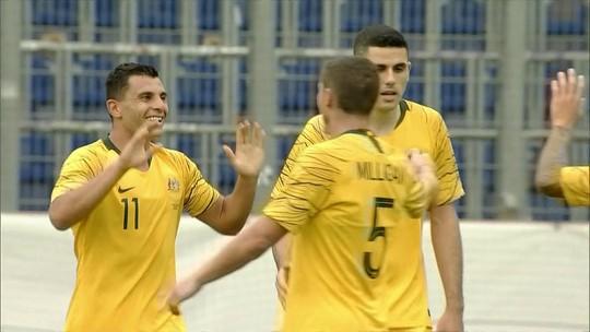8c45b2f5f32f5 Austrália faz quatro e goleia República Tcheca no penúltimo teste antes da  Copa