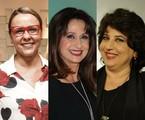 Giulia Gam, Zezé Polessa e Cristina Mutarelli | Marcos Ramos e TV Globo