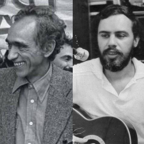 Betinho e Chico Mário (Foto: Infoglobo)