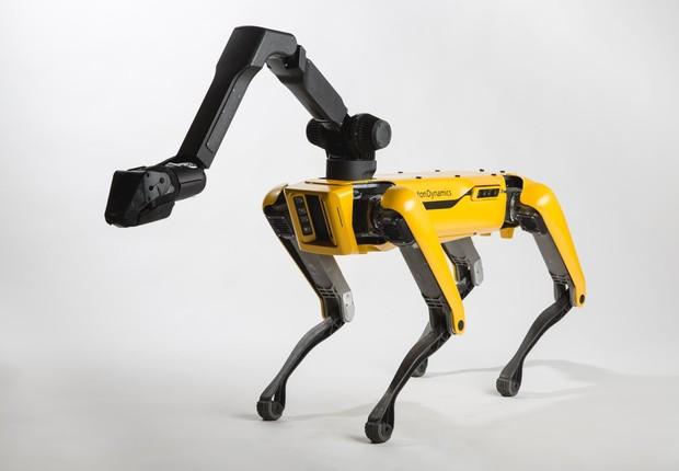 robô SpotMini (Foto: Boston Dynamics)