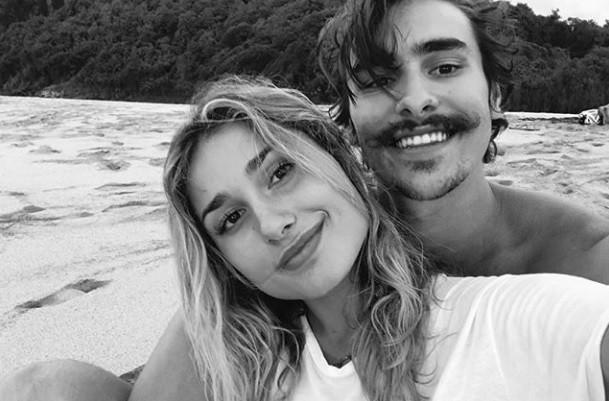 Sasha e namorado (Foto: Instagram)