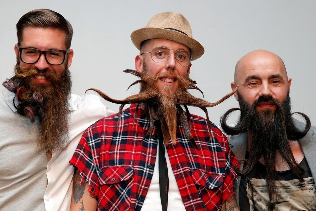 França tem campeonato de barbas (Foto: Philippe Wojazer/Reuters)