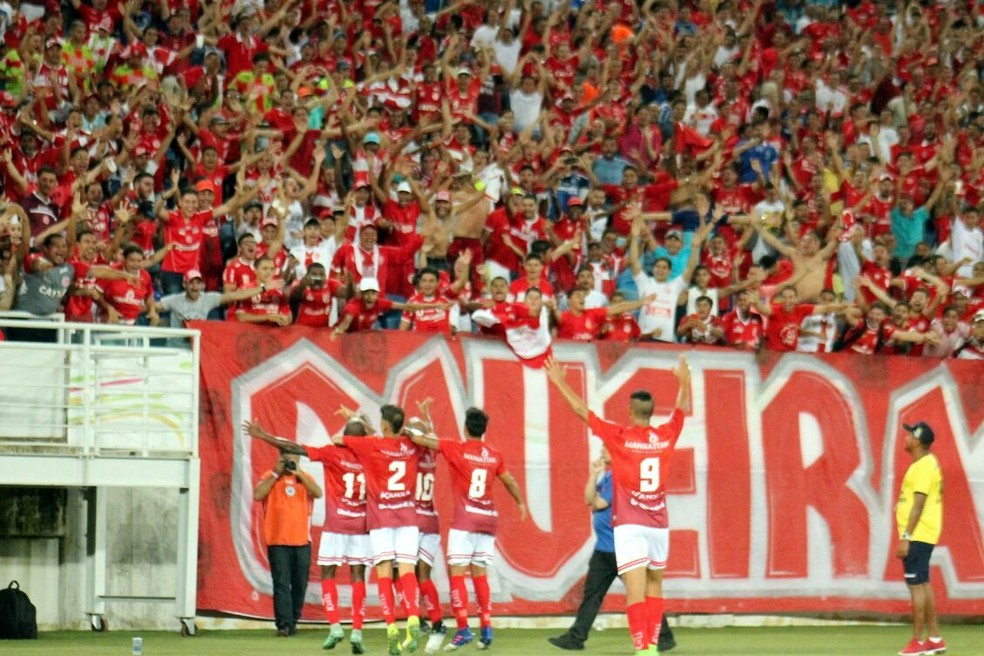 América-RN segue com 100% de aproveitamento na Série D; vitória sobre o Jacobina deixa o Mecão com nove pontos (Foto: Canindé Pereira/América FC)