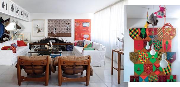 Múltiplos: Na sala, obras de Rodrigo Cass, Ana Elisa Egreja e Bruno Dudley (Foto: Vicente De Paulo)