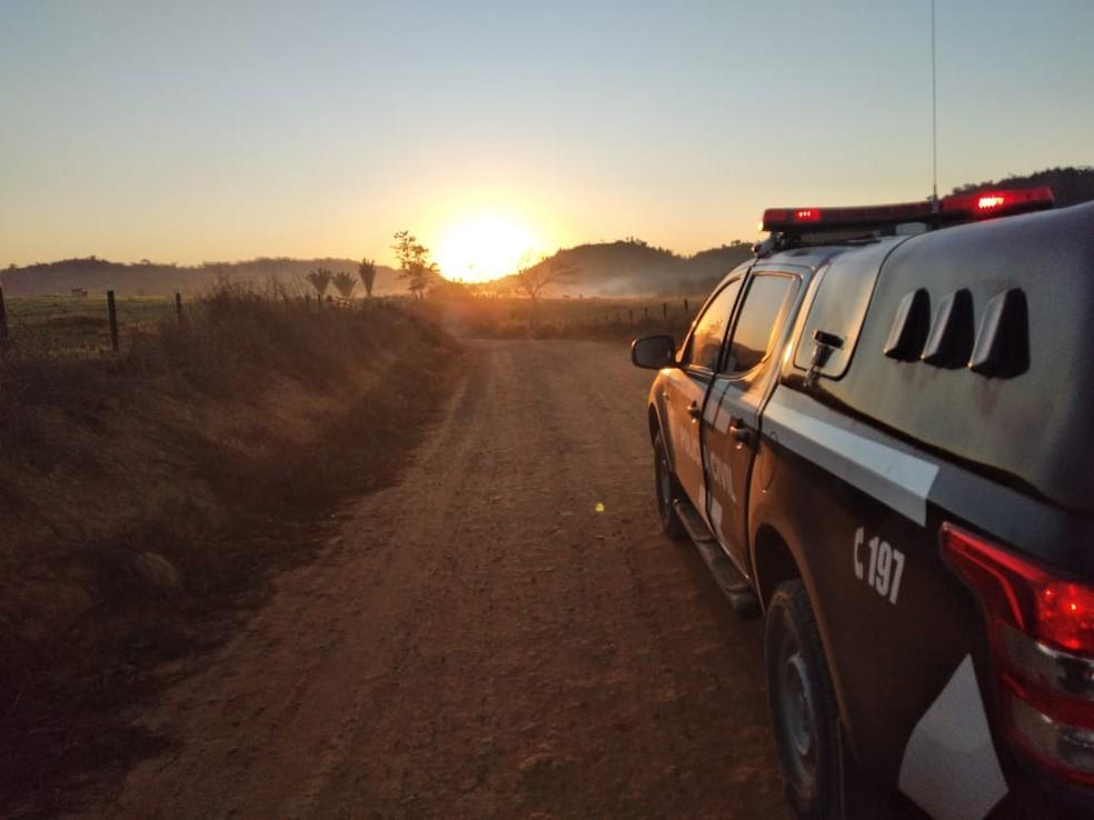 Viatura Polícia Civil Rondônia; polícia rondônia — Foto: PC-RO/Divulgação