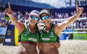Ágatha e Duda: das areias do vôlei de praia rumo ao pódio olímpico