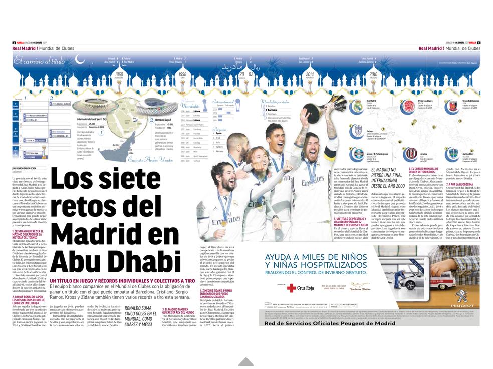Lista do Marca de objetivos do Real Madrid (Foto: Reprodução)