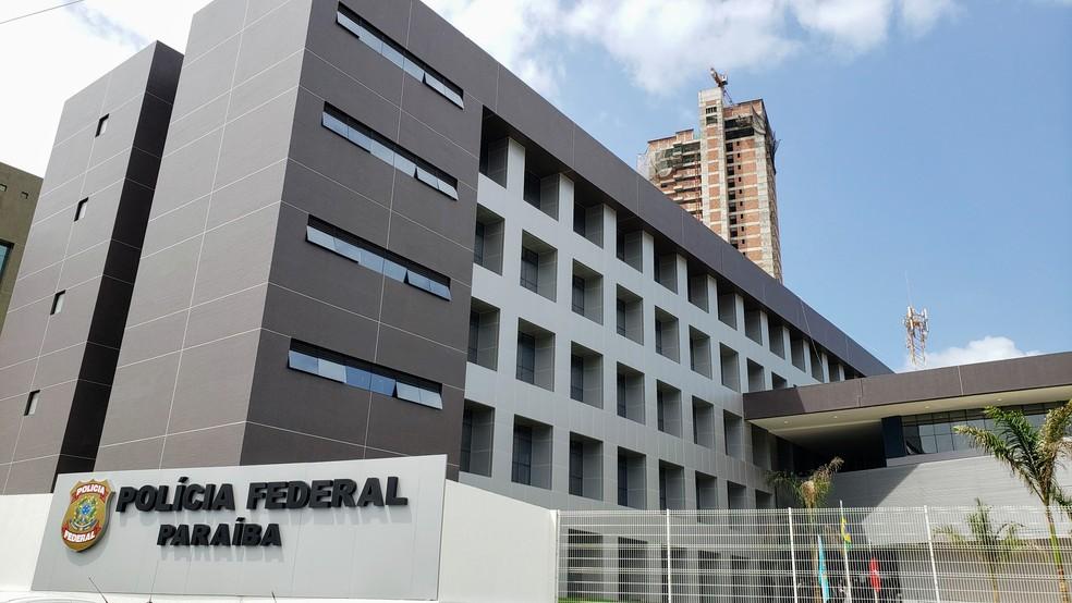Sede Polícia Federal na Paraíba, em João Pessoa — Foto: APCF/Divulgação
