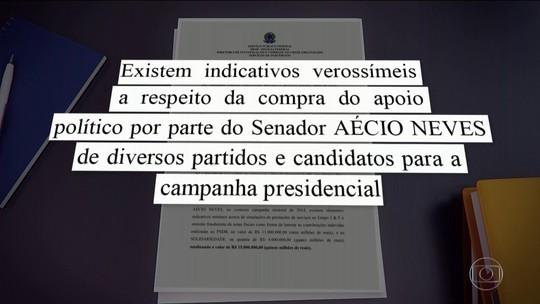 PF recolhe documentos em endereços de Aécio Neves (PSDB) em BH e no Rio