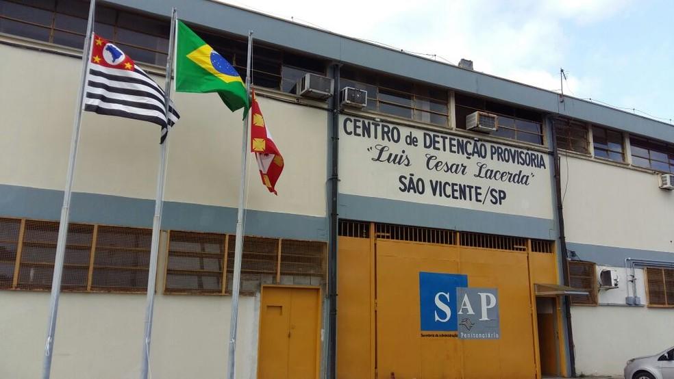 Centro de Detenção Provisória de São Vicente, SP — Foto: Divulgação/SAP