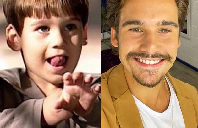 """Nicolas Prattes, que fez """"Éramos seis"""" como Alfredo, participou do último capítulo da novela como o filho de Giuliana e Matteo (Foto: TV Globo - Reprodução/Instagram)"""