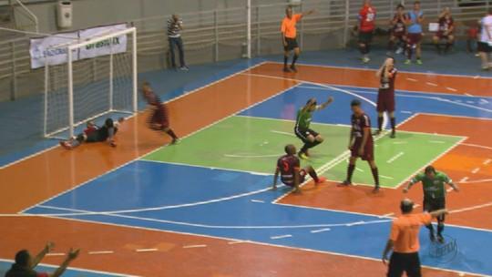 Araraquara e São João da Boa Vista decidem Taça EPTV Central de Futsal no dia 19