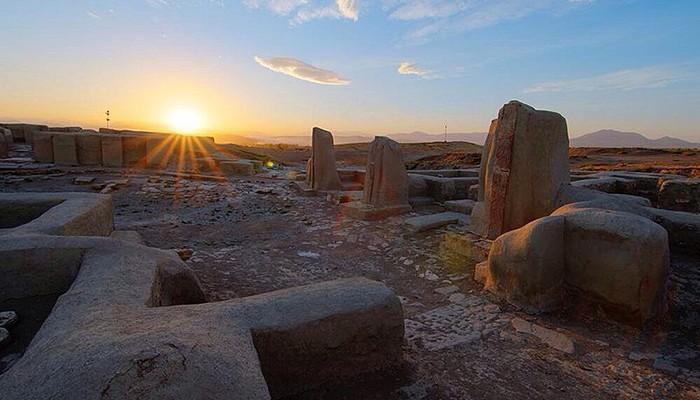 Sítio arqueológico Hasanlu (Foto: Wikimedia Commons)