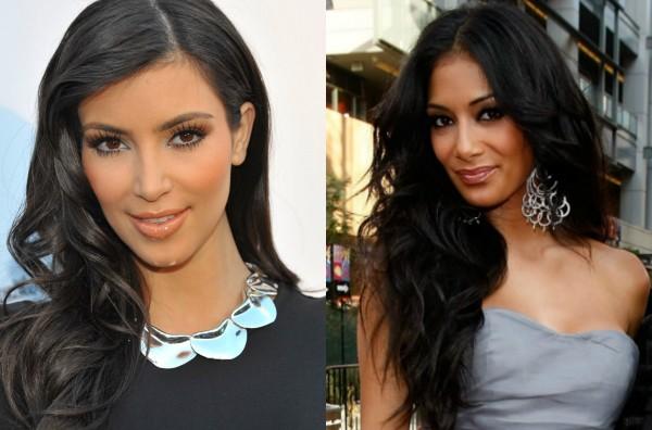 Kim Kardashian e Nicole Scherzinger (Foto: Getty Images)