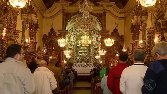 Católicos participam de celebrações da Semana Santa em Juiz de Fora e São João del Rei