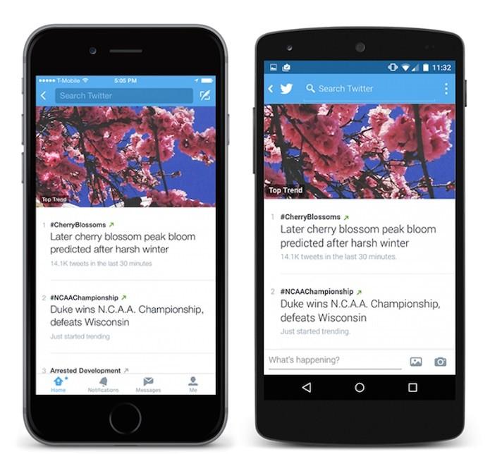 Os Trending Topics ganhou recurso que explica os termos do momento (Foto: Divulgação/Twitter)