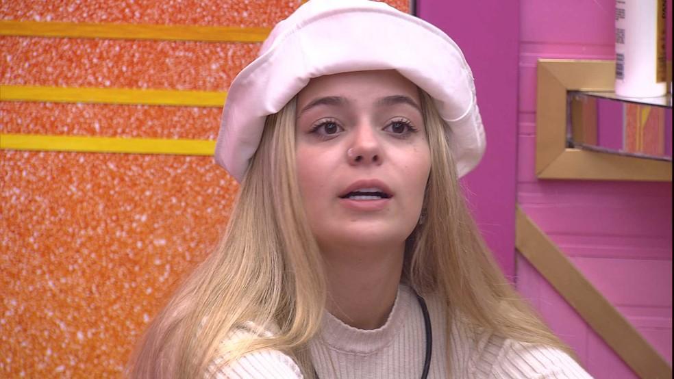 BBB21: Viih Tube comenta desentendimento com a sister: 'É exatamente o que vocês já tinham me alertado' — Foto: Globo