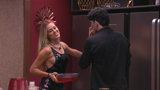 Isabella diz para Maycon: 'Você não admite que mudou comigo'
