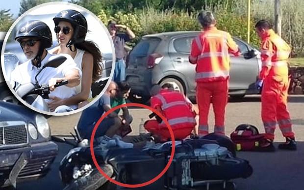 George Clooney e Amal Alamuddin em 2015; Acidente de moto com Clooney (Foto: BACKGRID)