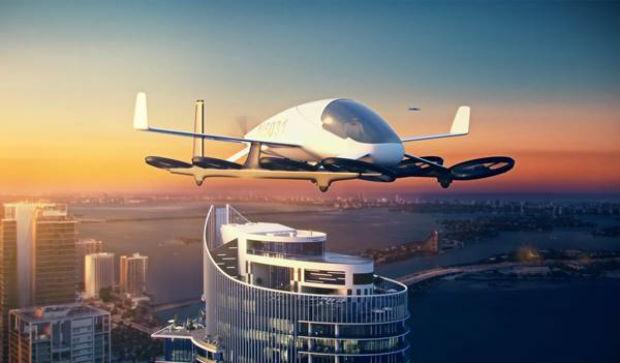 Skyport vai receber carros voadores (Foto: Divulgação)