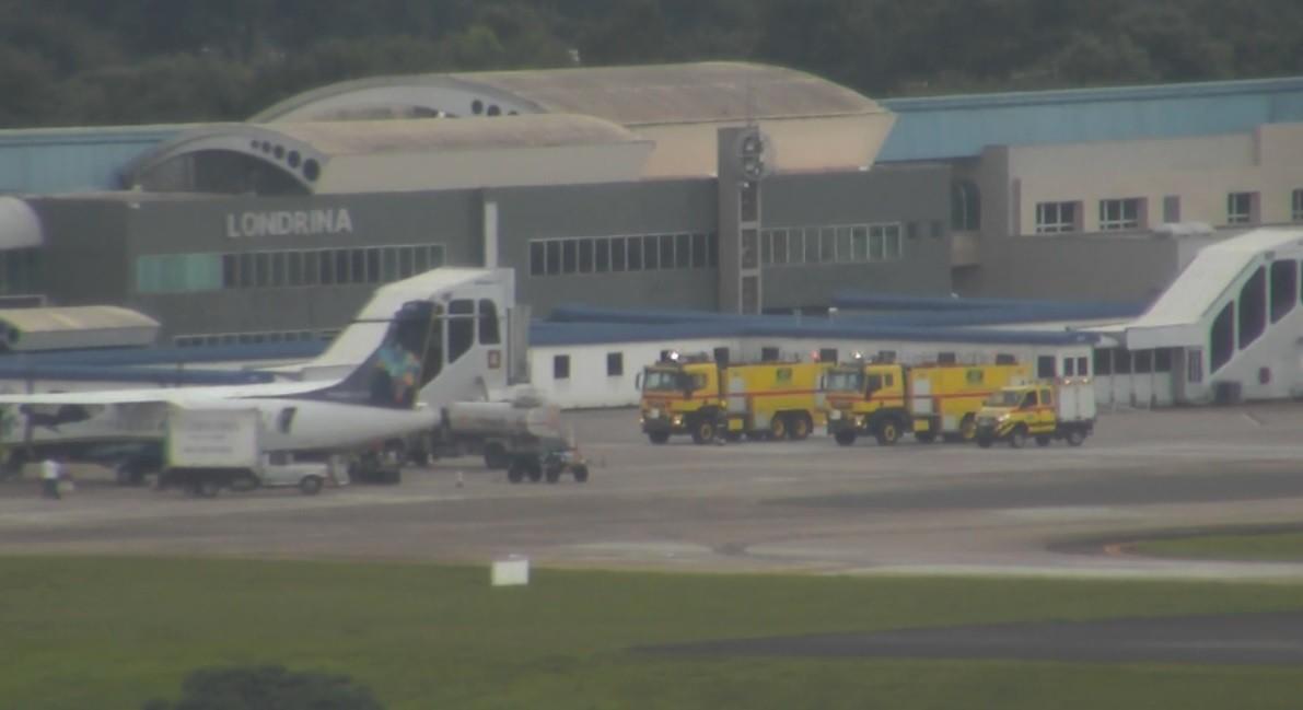 Avião com pane em um dos motores pousa no Aeroporto de Londrina, segundo bombeiros - Noticias