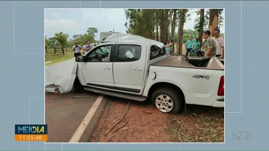 Homem morre em acidente entre Porto Rico e São Pedro do Paraná