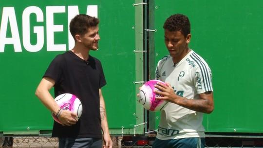 #comofazGE: Marcos Rocha, do Palmeiras, ensina a cobrar lateral para a área