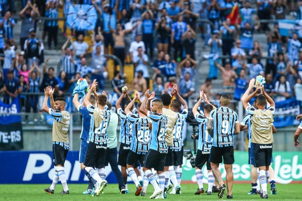 Grêmio mantém foco na Libertadores para evitar se distanciar do Cerro (Foto: Lucas Uebel/Divulgação Grêmio)