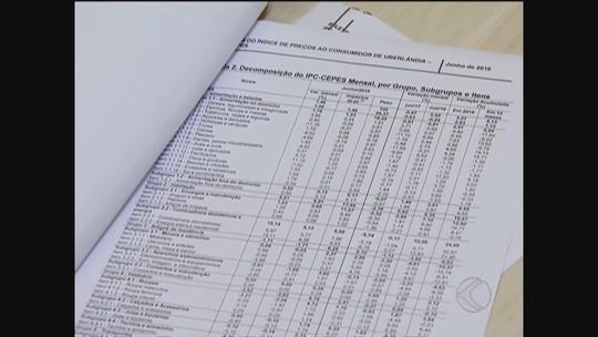 Inflação acelera em junho e registra o maior índice em Uberlândia desde 1995