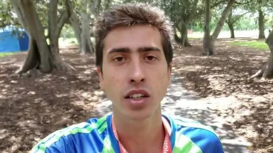 Caio Bonfim vence o Campeonato Australiano de marcha atlética de 50km